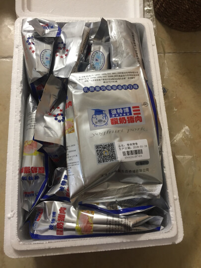 彼特博 酸奶猪 前腿肉 400g/袋 乳酸菌饲养 晒单图