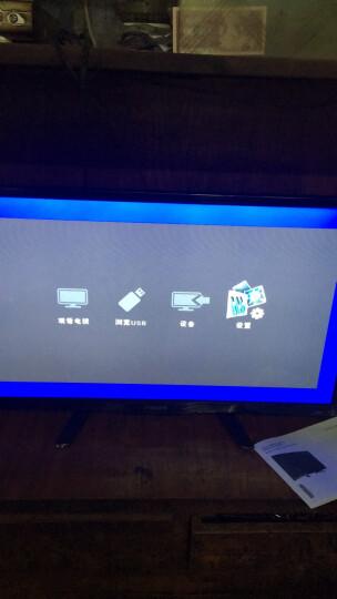 飞利浦(PHILIPS)55英寸4K超高清安卓智能网络WiFi液晶平板电视机 可做显示器 黑色 底座+挂架 晒单图