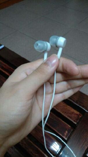芙洛蒂 手机耳机入耳式 线控耳机小米4/4C/3/红米note耳机红米note2a/3耳机 香槟色标准 晒单图