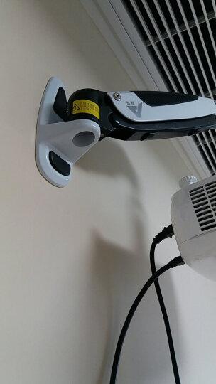 悠视 YS-PR03投影仪支架气压悬停伸缩挂架投影仪吊架投影机墙面壁挂支架万向旋转伸缩通用 PR03A白色 壁挂式 气压一节臂 晒单图