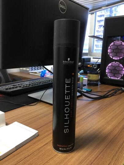 施华蔻(Schwarzkopf) 德国黑人头定型造型 免洗护发喷雾200ml烫染护理 晒单图