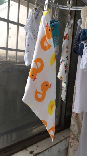 奔麦 口水巾宝宝围嘴饭兜儿童吃饭围兜三角巾 单条(男宝) 晒单图