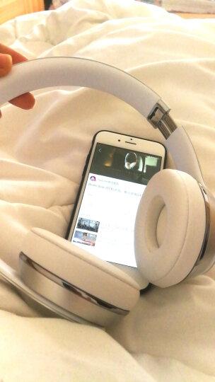 beats solo3 Wireless无线蓝牙头戴式耳机折叠式重低音运动耳机带麦全新正品三码合一 霹雳红 晒单图