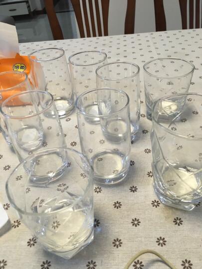 乐美雅 Luminarc 葡萄园直身杯 无铅玻璃水杯茶水饮料果汁杯 290ml 6只装 晒单图