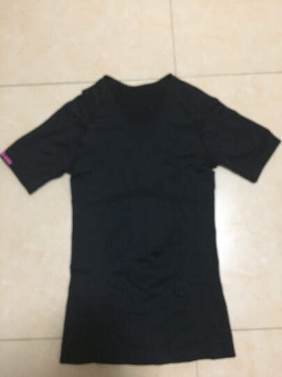 【美国品牌】威尔胜(Wilson)女子紧身衣激能压缩衣 健身服短袖/长袖 短袖WZ4215L码(胸围88-100cm) 晒单图