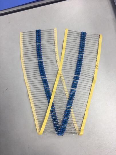 高科美芯 1W精密电阻器 1W色环电阻 金属膜电阻1W 2.2K 精度1% 50个 晒单图