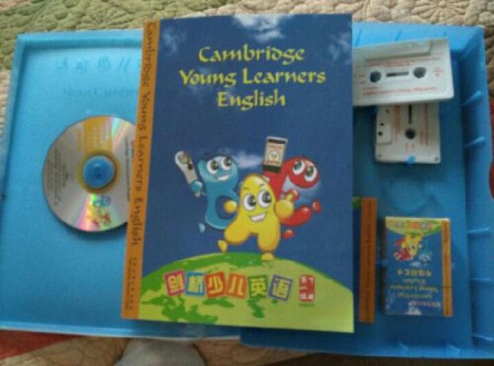 包邮新版剑桥少儿英语 一级 点读版 少儿英语培训教材 含磁带 光盘 书 学员卡等  晒单图
