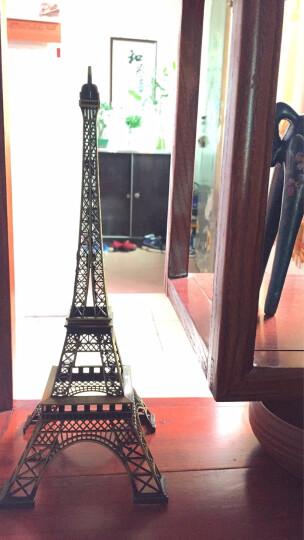 翻旧事 创意客厅摆件工艺品建筑模型巴黎铁塔摆件装饰品办公室桌面摆设礼物 带表自由女神 晒单图