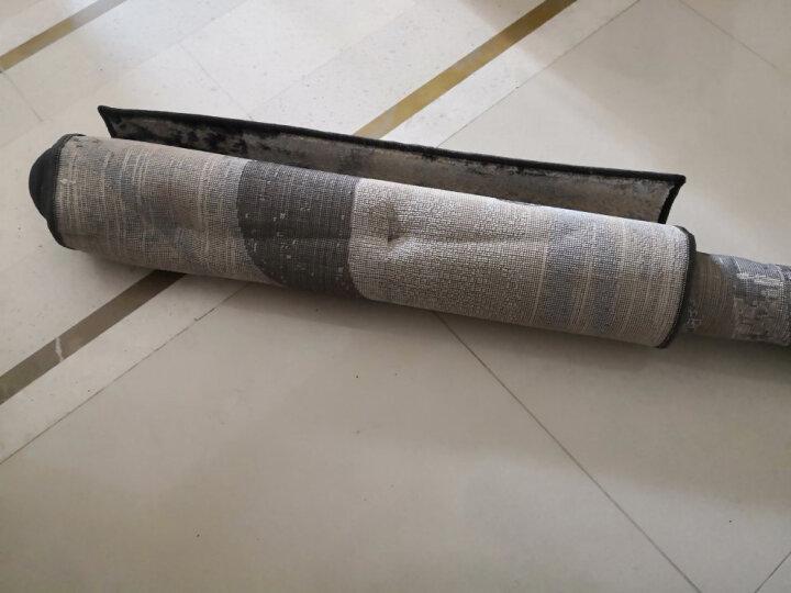 新家喜 加密现代简约客厅茶几地毯 卧室床边玄关进门毯定制 榻榻米垫 马蹄莲图案 定制140元/平米(联系客服) 晒单图