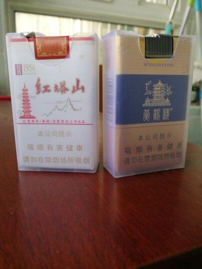 烟盒20支装 男士个性创意烟盒 超薄透明塑料烟盒 整包香烟盒香菸软壳 软包盒 香烟保护套 晒单图