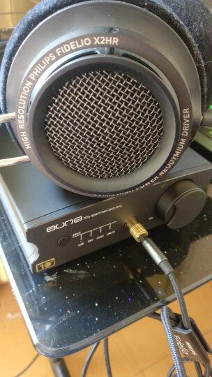 aune X1S十周年纪念版耳机放大器2020款USB 9038DAC解码DSD硬解HiFi台式耳放 X1S 黑色 Black    10周年版 晒单图