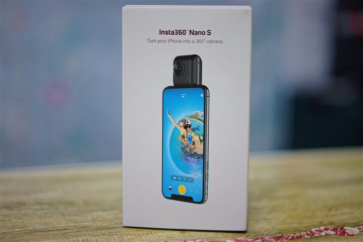 Insta360 Nano S全景相机 Nano Air 高清摄像机智能运动直播微博全景 Nano银色 晒单图