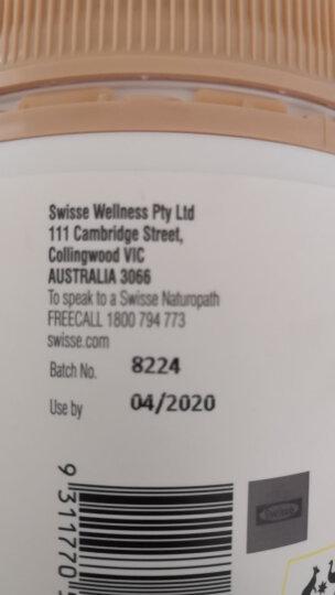 Swisse 钙片钙加维生素D片 柠檬酸钙 150片 澳洲进口 成人 中老年人补钙 晒单图