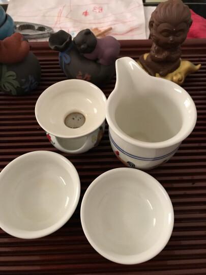 品言 高白泥仿古明成化斗彩鸡缸杯瓷器茶杯茶碗 茶具茶杯功夫 鸡缸杯公道杯ST 晒单图