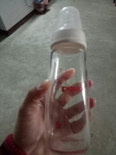 贝亲(Pigeon)标准口径玻璃奶瓶 200ml AA86 晒单图