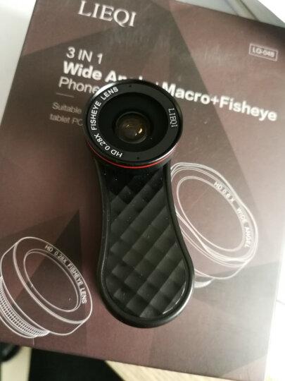 猎奇(LIEQI)LQ-048手机镜头 广角鱼眼微距三合一套装 苹果iphone华为自拍单反外置摄像头 花瓣型玫瑰金 晒单图