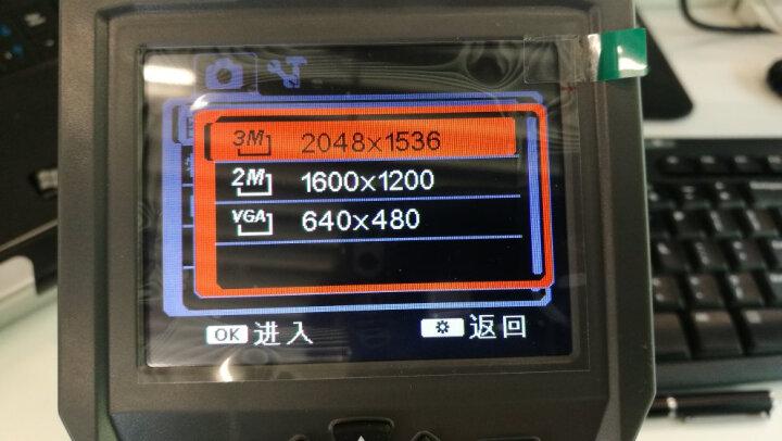 鑫思特HT-660工业内窥镜高清摄像头带视频录制防水探头汽车检修工业管道检测仪数据导出 晒单图