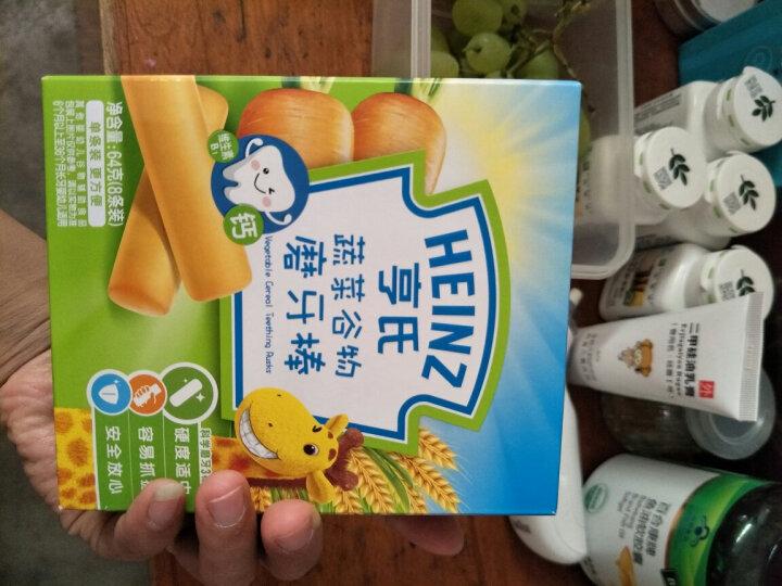 亨氏(Heinz) 宝宝辅食 婴儿米粉强化铁锌钙营养奶米粉 325g*2盒 晒单图