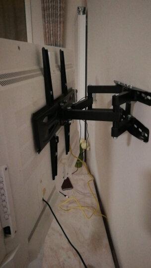 乐歌 17-50英寸电视挂架 电视机支架 旋转伸缩壁挂 电视架子 32/50寸小米创维夏普海信TCL索尼等通用PSW731S 晒单图