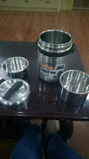 苏泊尔(SUPOR) 保温饭盒 1.5L高汤宝保温密封提锅  KF15A1 保温桶便当盒 浅灰色 晒单图