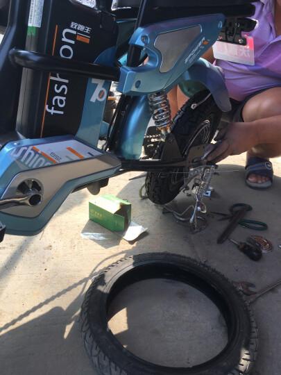 沃普顿(Wopudun) 沃普顿16寸电动自行车 亲子外卖电瓶车 电动车 锂电助力车真空轮胎 亲子款经典蓝(12A)+遥控 晒单图