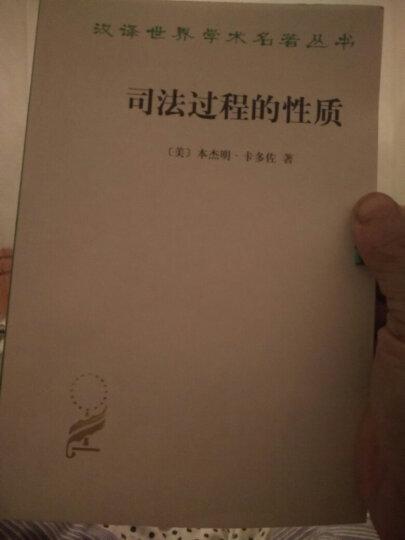 汉译世界学术名著丛书:司法过程的性质 晒单图