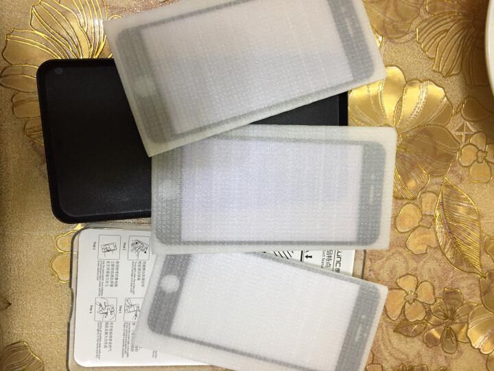 【3片装】朗客 iphone6s/6钢化膜 苹果6s/6手机膜 抗蓝光软边全屏覆盖高清防爆无白边手机贴膜【黑色】 晒单图