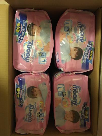 日本尤妮佳(MOONY)纸尿裤小号S84片*3包(4-8kg)大箱装(官方进口) 晒单图