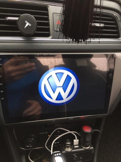 鸿帆 大众新桑塔纳宝来捷达 速腾朗逸POLO车载安卓大屏智能车机导航仪倒车影像一体机 特价款:Wifi版1+16G+倒车后视+安装 晒单图