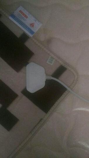 赛亿(Shinee)双人双控电热毯/电褥子/加热暖身毯/取暖器家用/取暖电器/电暖器/电暖气/床上取暖毯TB201 晒单图