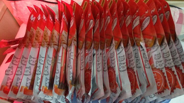 猫太郎(TheCats)流质宠物猫零食挑嘴湿粮猫条咖啡条 三文鱼组合装 50g*5包 晒单图