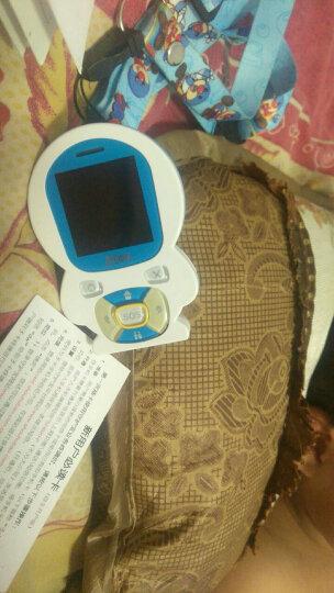 守护宝 守护宝(上海中兴)GA350 电信3G 男女学生卡通迷你低辐射定位手机 蓝色 晒单图