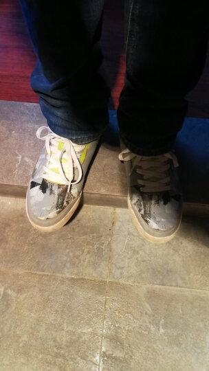 特步(XTEP)板鞋 男运动休闲鞋低帮滑板鞋时尚韩版潮鞋 9503 兰 45 晒单图