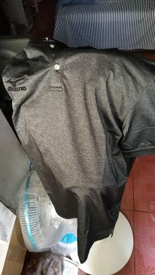 高尔夫T恤 MIZUNO 高尔夫短袖 男 高尔夫运动服饰 Z85HS170 黑色 L码 晒单图