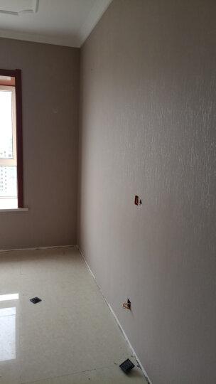 梵迪欧壁纸 仿硅藻泥纹理墙纸 卧室客厅电视背景墙壁纸 纯色环保无纺布墙纸 粉红色S08012018 晒单图