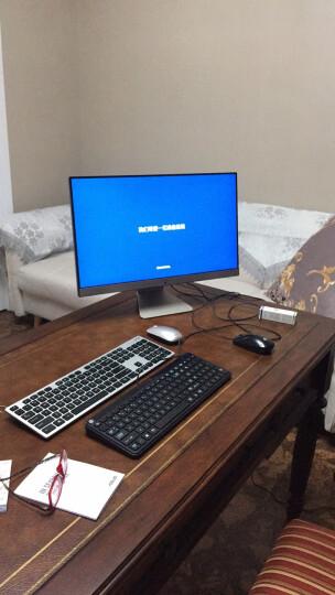 华硕(ASUS)傲世V241IC 23.8英寸一体机电脑(Intel奔腾4405U 4G内存 1T 集显 全高清 爱眼滤蓝光)黑曜金 晒单图