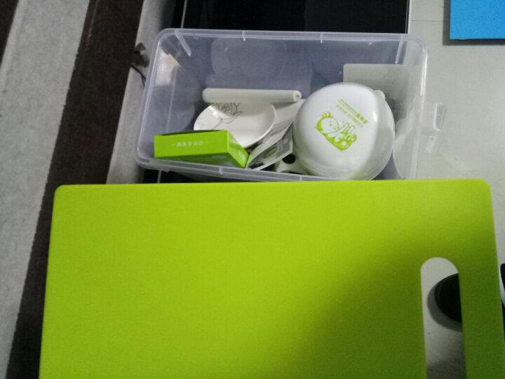 美帝亚(MIDDIA) 婴儿辅食研磨器 宝宝食物辅食工具套装 辅食料理机 果泥榨汁器 PP款(非陶瓷) 晒单图