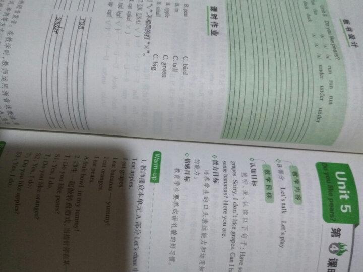 小学语文二年级下册:2017春特级教案与课时作业新设计(RJ人教人教版 教师用书 一本) 晒单图