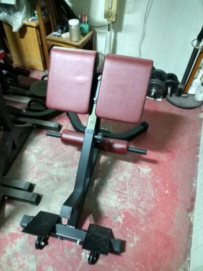 创思维 罗马椅健身椅山羊挺身背部腰部训练家用仰卧起坐运动健身器材CSW9003T 罗马凳(红) 晒单图