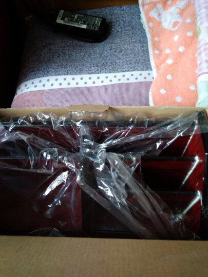 信发(TRNFA) TN-A02 收纳盒木质笔筒 办公桌面整理置物柜 化妆品遥控器收纳用品座 晒单图