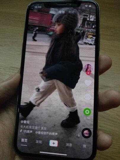 GK 【京东好货】 苹果x钢化膜 iphoneX/10全屏6D高清覆盖ix防指纹十手机膜 iPhonex【升级6D玻璃一体膜☆蓝光版】前膜 晒单图