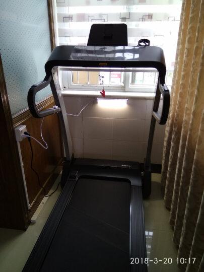 舒华A3跑步机家用静音折叠智能触控跑步机新款商用健身器材SH-T3300 SH-T3300珍珠白 实体店同款 晒单图