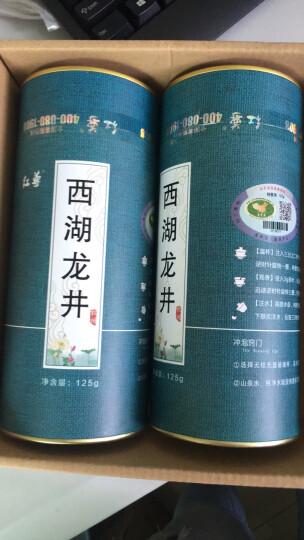 红尊绿茶茶叶云雾绿茶 高山绿茶 礼袋罐装500克大份量一斤装 晒单图