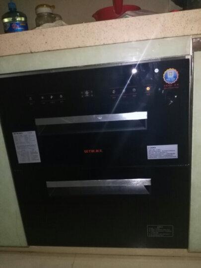 森太(SETIR) F299消毒柜嵌入式家用厨房消毒碗柜 黑色钢化玻璃轻触按键款 升级一体冲压款 晒单图