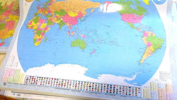2019上海全图上海市地图挂图政区交通 新 1.1米X0.8米 中国行政图 34分省系列 双面覆膜 晒单图