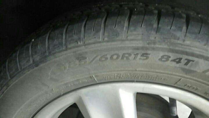 韩泰(Hankook)轮胎/汽车轮胎 185/60R15 84T K415 原配新POLO/新捷达/昕锐/威驰/雅力士/新普力马 晒单图