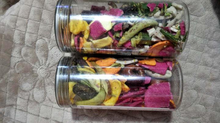 座上客 果蔬脆混装秀105*2罐装 蔬果干脆枣 秋葵脆 水果干 蔬菜干零食 晒单图