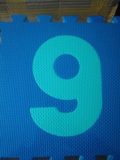 明德早教启蒙儿童3D拼图地垫AR立体有声识字爬行垫儿童认知发声玩具 EVA泡沫拼接地板 3D拼音动物B款 30x30x1cm(整包价 送边) 晒单图