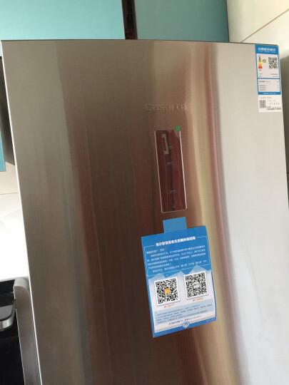 卡萨帝(Casarte)346升变频风冷无霜冰箱三门杀菌节能家用BCD-346WDSS 晒单图