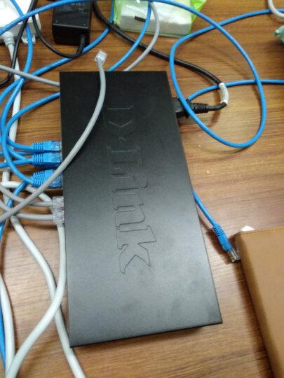 友讯(D-Link)dlink DES-1024D 百兆 非网管 交换机24口 办公家用 桌面式 晒单图
